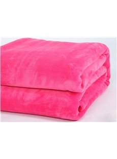 Solid-colored Roseo Thick Flannel Sheet