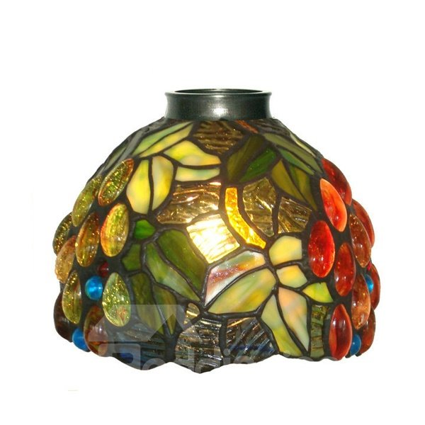 Artistic Tiffany in Question Mark Shape Table Lamp