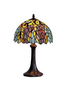 Classical  Tiffany Table Lamps with Chinese Wistaria Decoration (10488716)
