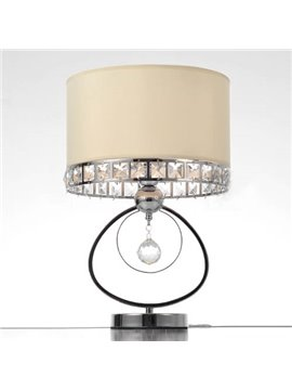 Post Modern Crystal Table Lamps Iron Art with 1 Light (10488775)