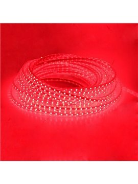 2.88W 24LED Round LED Strip Lights Red/2m ( AC 220V ) (10488839)