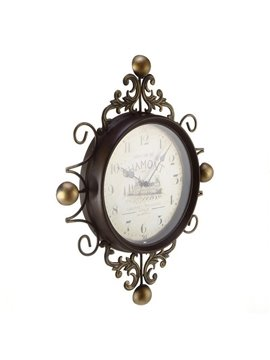 European Style Mute Retro Wall Clock (10489170)