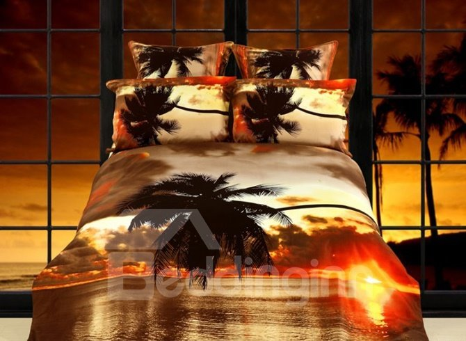 Palm Tree Bedding Sets Funk This House