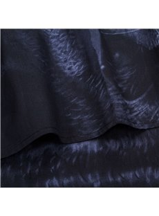 Top Class 4 Piece Black Panther Print 3D Bedding Sets