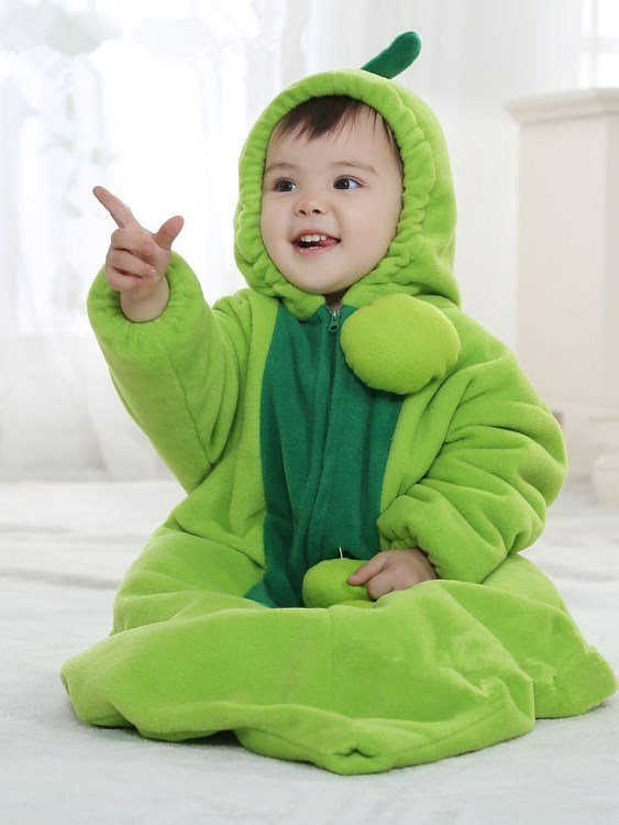 green pea style bodysuit baby sleeping bag. Black Bedroom Furniture Sets. Home Design Ideas