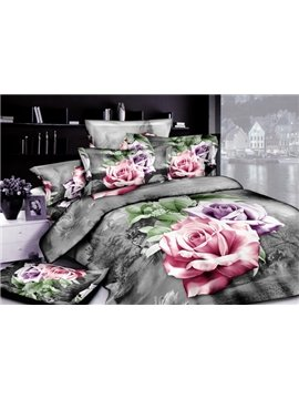 2013 New Arrivals Modern Style With High Quality 4 Pieces Bedding Sets