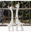 Hot Selling Cheap Creative Gift Couple Giraffe Ornaments With Stylish Simplicity