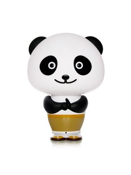 Voice Control Kongfu Panda Shape Lovely Multi-Function Table Lamp
