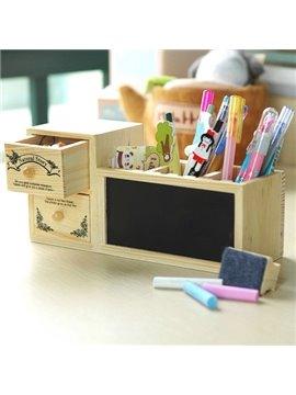 New Arrival Korean Style Creative Blackboard Storage Box