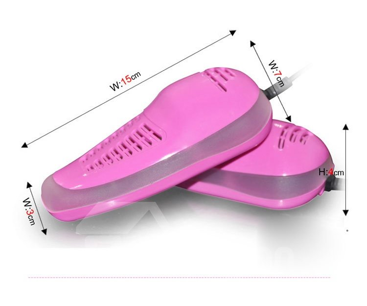 New Arrival Beautiful Design Pure Color Ultraviolet Rays Shoes Dryer