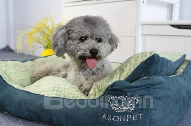 New Arrival Green Cool Deluxe Cute Pet Beds For Summer