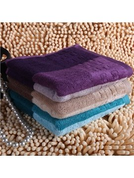 New Arrival All Cotton Towel With Simple Design
