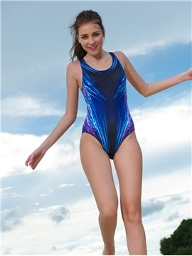 Simple Style One Piece Swimwear with Freewire Tube TopTankini
