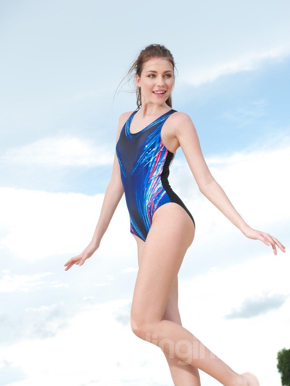 Simple Style One Piece Swimwear with Freewire Tube TopTankini