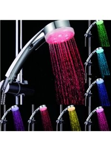 New Arrival Pressure Boost LED Colorful Shower Head Faucet