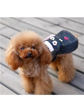 New Arrival Fashion Jeans Dress Style Gorgeouso Dog Clothing