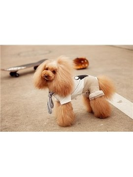 New Arrival Cute Soft Cotton Jumsuits Style Fashion Dog Clothing