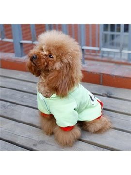 New Arrival 100% Cotton Soft Cute Monky Style Pretty Dog Clothing