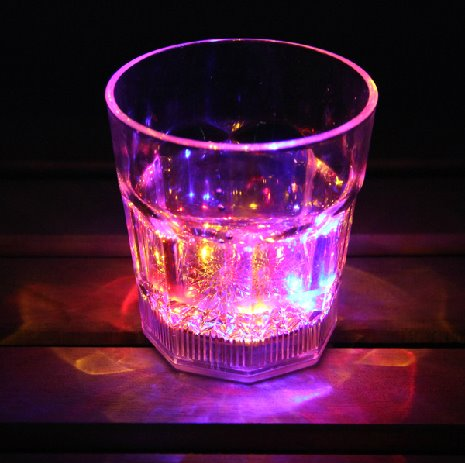 Cool Dazzle Colorful LED luminous cocktail acrylic glass/Party Cup 10641439