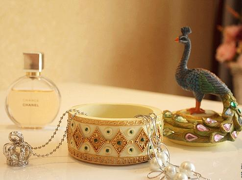 New Arrival Beautiful Peacock Jewelry Box