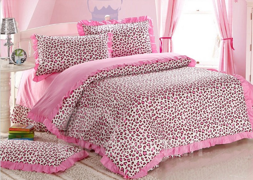 pics photos hot pink cheetah bedding