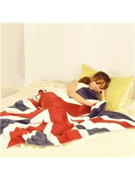 New Arrival High Quality Air Conditioning Union Jack Blanket