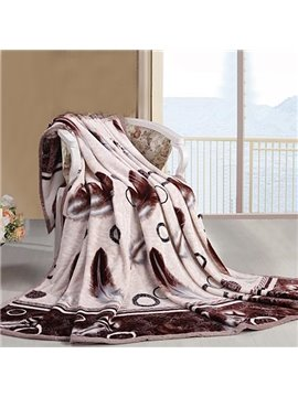 New Arrival High Quality Whirling Dancer Air Conditioning Thick Flannel Blanket