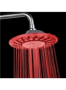 Colorful Temperature Control LED Changing Color Shower Head faucet