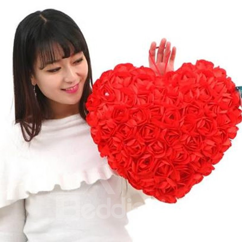 New Arrival Warm Gorgeous Heart Shape for Lover Pillow