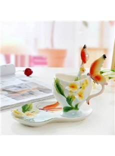 New Arrival Stylish Design Gorgeous Butterfly Coffee Cup