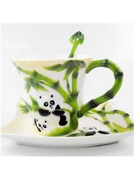 New Arrival Unique Design Cute Panda Panda Coffee Cup