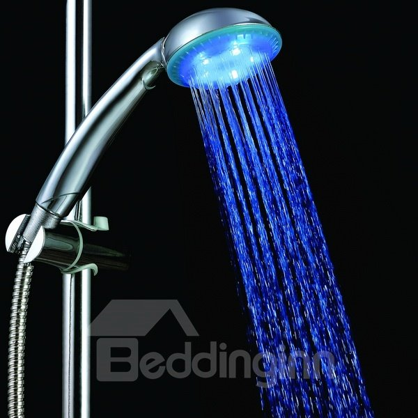 Fashion Unique Three Color faucet changing color by temperature for kitchen/Bathroom