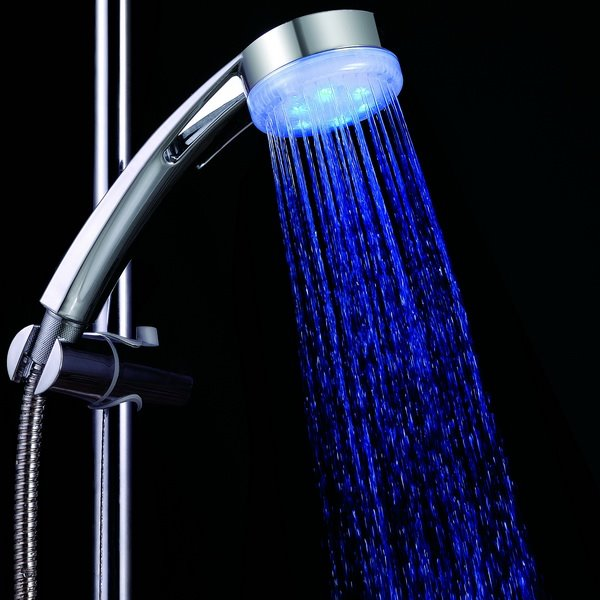Fashion Three Color faucet changing color by temperature for kitchen/Bathroom