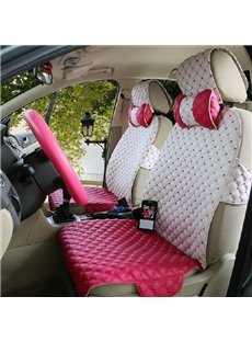 Pretty Cute And Lovely Fashion Leather Car Seat Cover