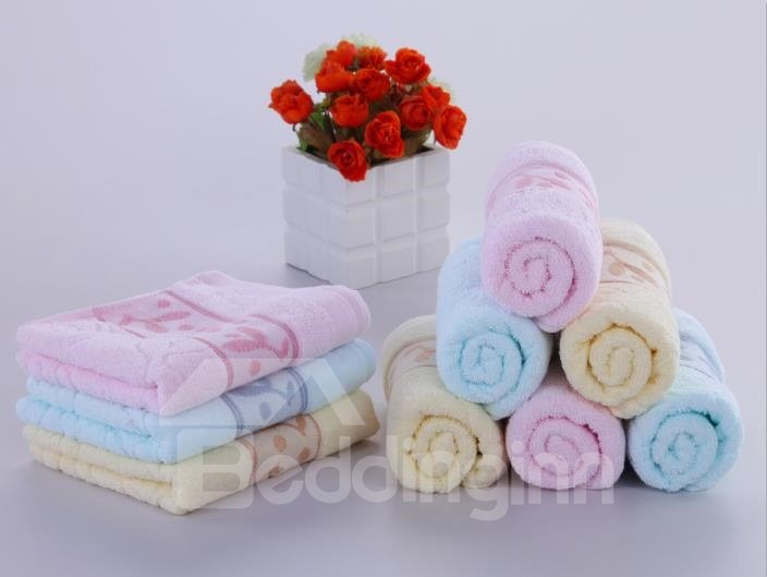 New Arrival Comfortable Skin Care Jacquard Towel
