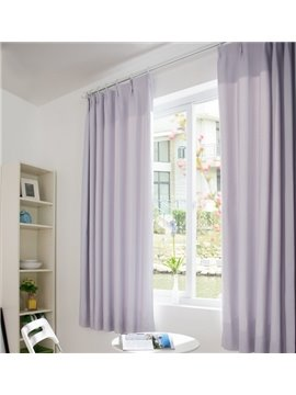Eco-Fine Simply Style High Quality Modern Living Room & Bed Room Curtain (one Piece)
