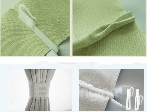 Eco Fine Two Piece Plus Size Cheap Price Living Room Bed Room Curtain