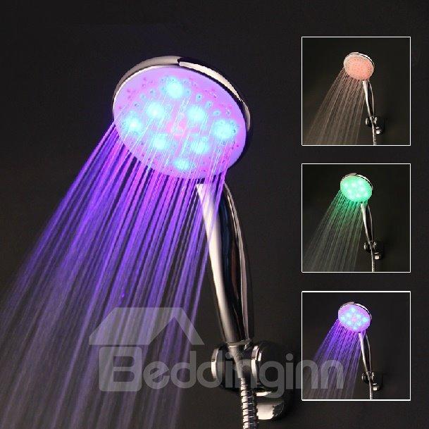 LED Self-Luminous Handheld Shower Head faucet