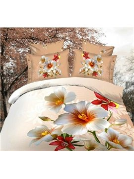 New Arrival High Quality Skin Care Perpetual Love Meaning 4 Piece Bedding Sets/Duvet Cover Sets
