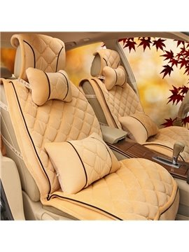 New Arrival High Quality Cheap Fashion Simple Soft Deluxe Seat Cover