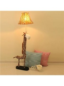 Creative Fabric Giraffe Shape Pets Adjustable Floor Lamp Table Lamp