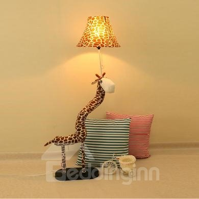Creative Fabric Giraffe Shape Pets Adjustable Floor Lamp ...