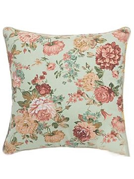 New Arrival Linen Cotton Fabric Floral Pillowcase