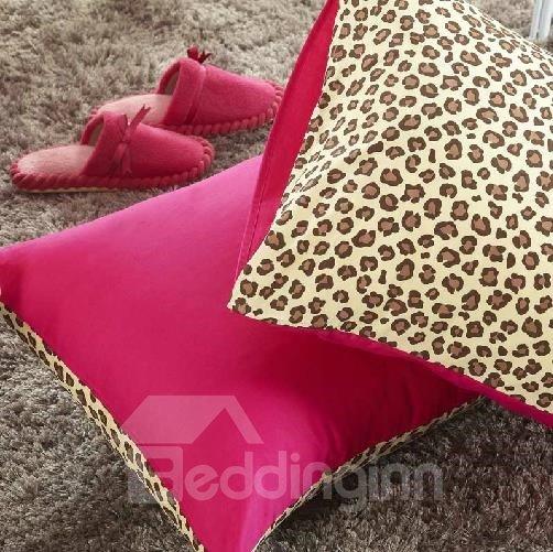 New Arrival 100% Cotton Fashion Sexy Leopard 4 Piece Bedding Sets/Duvet Cover Sets