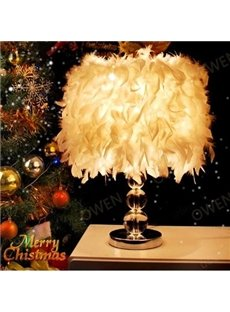 Romantic Feature Decorative Crystal Table Lamp