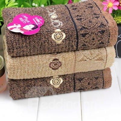 New Arrival Comfortable Skin Care Pure Color Top Grade Towel