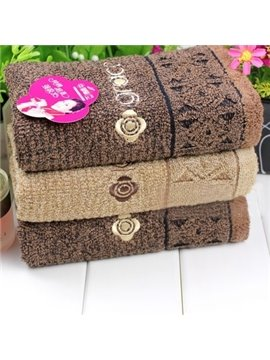 New Arrival Comfortable Skin Care Pure Color Top Grade Towel