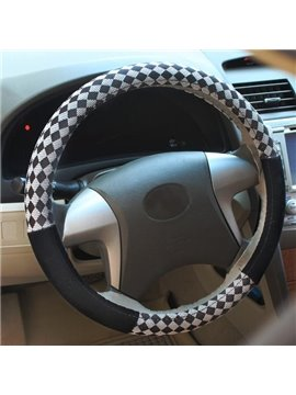New Arrival Leather Stylish Fashion High Quality Sterring Wheel Cover
