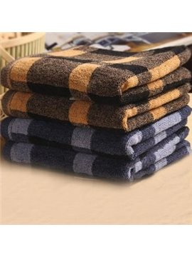 High Quality 100% Cotton Top Grade Checks Patterns Soft Towel