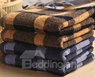 100% Cotton Top Grade Checks Patter Soft Towel
